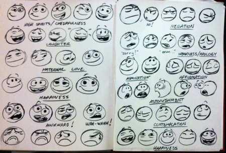 Facebook se une con artista de Pixar para rediseñar los emoticones.