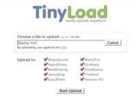 TinyLoad, subiendo archivos de hasta 100 MB a diferentes sistemas de alojamiento