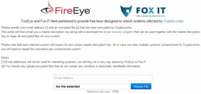 Las víctimas de Cryptolocker podrán recuperar sus archivos gratis gracias a una web