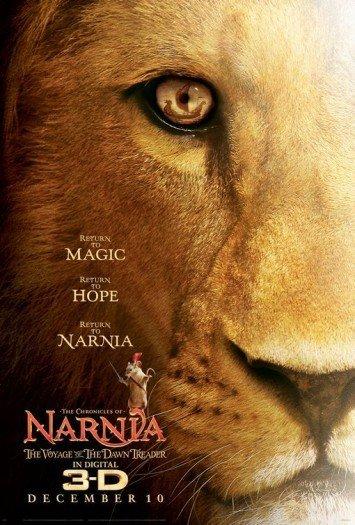 'Las crónicas de Narnia: La travesía del Viajero del Alba', primer cartel
