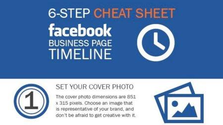 Personaliza el Timeline de tu página de Facebook en seis pasos, la infografía de la semana