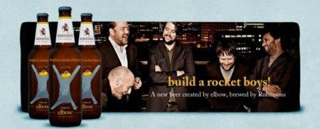 Build a rocket boys!, la cerveza de Elbow