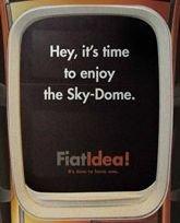 El Fiat Idea se pone por las nubes