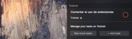 Todoist Extension