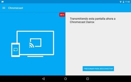 Chromecast app 1.9.6 con Material Design y transmisión de pantalla en beta para todos los Android 4.4.2 [Actualizado]
