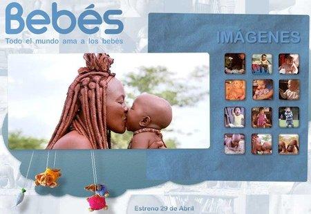 """Estreno del documental """"Bebés"""", el 29 de abril"""