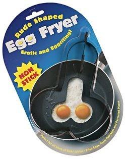 Egg frier, huevos fritos con forma de huevos