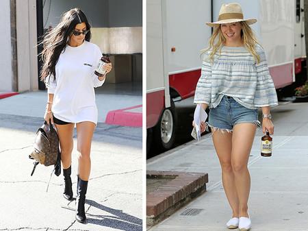 Kourney Kardashian Y Hilary Duff Kombucha Alimentos De Moda 2018