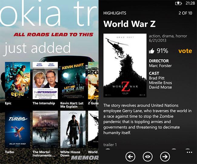 Nokia Trailers