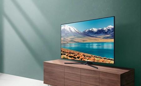 """La elegante Smart TV de gama alta Samsung 55TU8505 55"""" de 2020 roza su precio mínimo histórico en Amazon: 618,02 euros"""