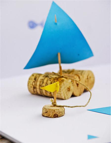 Barco en tarro de cristal