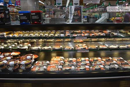 Sushi en un centro Alcampo de Madrid