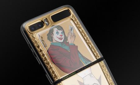 El Samsung Galaxy Z Flip aún no es oficial y Caviar ya muestra una lujosa edición especial Joker y Harley Quinn