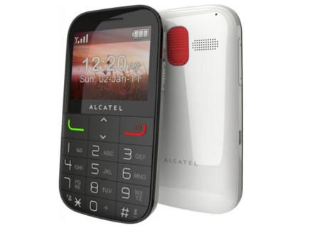 Vodafone lanza el Alcatel 20.00, un móvil orientado a la tercera edad