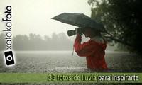 35 fotografías de lluvia para inspirarte
