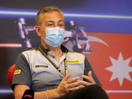 Mario Isola Pirelli F1 2021