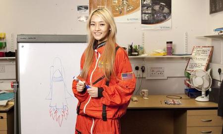 La mujer que podría dar a luz al primer bebé marciano