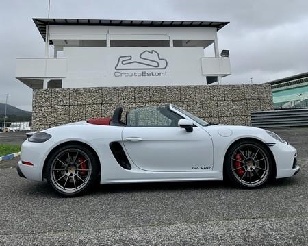 Porsche 718 Boxster GTS 4.0 lateral