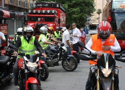 Una mañana en el Moto Live Tour Aprilia