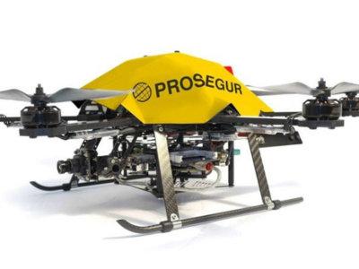 Este dron no es un cualquiera: es vigilante de seguridad y tiene licencia para volar
