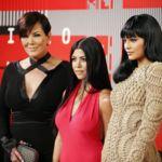 Kris, Kourtney y Kylie, las otras Kardashian-Jenner de los premios MTV Video Music Awards