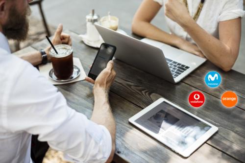 Las nuevas tarifas de fibra, móvil y televisión de Vodafone One comparadas con Movistar Fusión y Orange Love