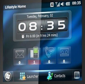 interfaz windows phone