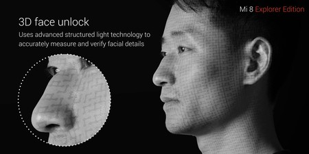 Xiaomi Mi 8 3d Face Unlock