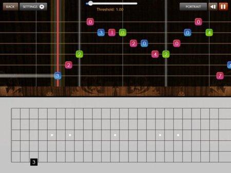 Plectrum, o cómo practicar guitarra con tu iPad