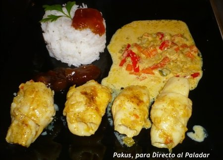 Merluza al curry. Receta