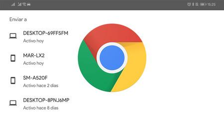 Google Chrome se prepara para sincronizar el portapapeles entre tus dispositivos