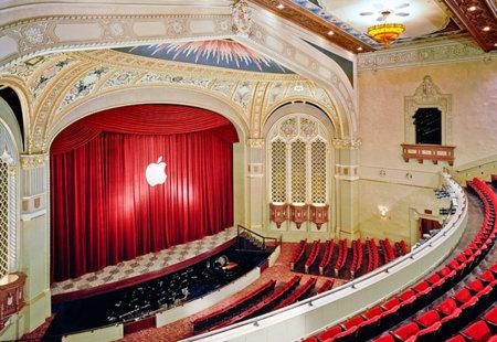 Apple comienza los preparativos para el evento de mañana en el California Theatre de San José