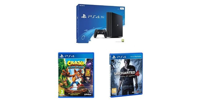 Compradiccion Com Packs De Ps4 Pro Con Crash Bandicoot N Sane