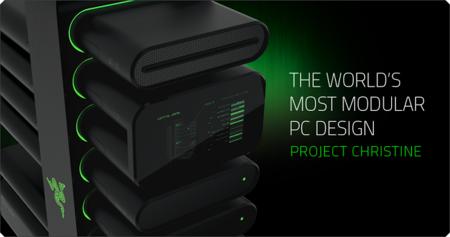 Razer muestra Project Christine, diseño concepto de una PC completamente modular