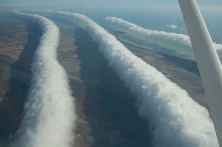 Estas son las morning glory, las nubes más espectaculares del mundo