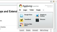 Ten a mano y clasificadas las aplicaciones de Chrome con AppJump Launcher