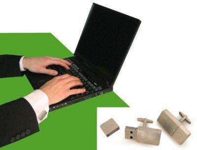 Gemelos con memoria USB, un gadget 'de lujo'