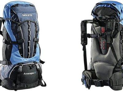 Por sólo 56,04 euros puedes hacerte con la mochila AspenSport Aconcagua de 65 litros en Amazon