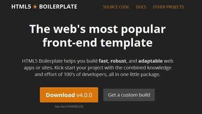 HTML5 Boilerplate 4.0.0, llegando al siguiente nivel