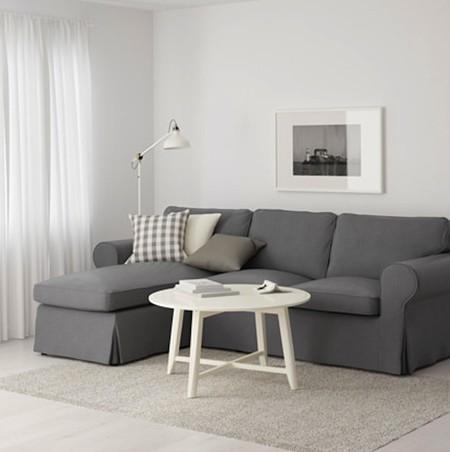 Ektorp Sofa De Plazas Y Chaiselongue Gris 0467371 Pe610850 S4