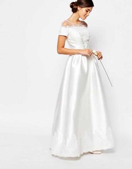 Vestido Novia Clasico Chichilondon