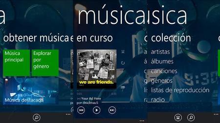 Xbox Music ahora compatible con Rincon Infantil y puedes ver tus ultimas reproducciones