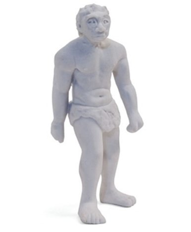 Gomas de borrar: Mr. Neandertal y un gorila verde