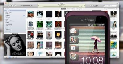 HTC Sync se podrá sincronizar con iTunes