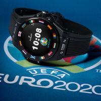 El último reloj de Hublot con Wear OS es una edición especial (y limitada) para la Eurocopa que vale 5.700 euros e incluye un NFT