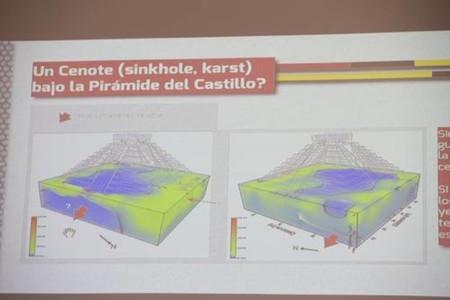 La pirámide de Kukulkán estaría construída sobre un cenote: UNAM