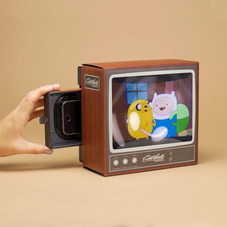 Retro Tv Smartphone Magnifier Firebox 1