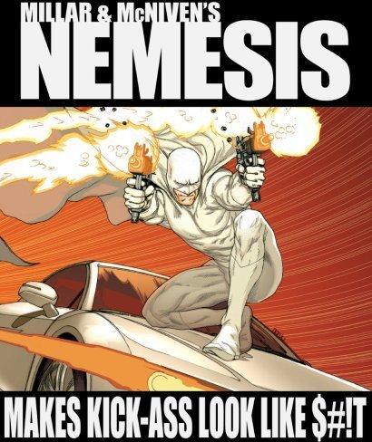 Portada del cómic Némesis