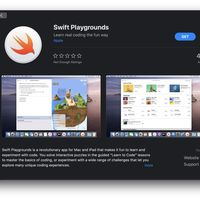 Swift Playgrounds, disponible para Mac