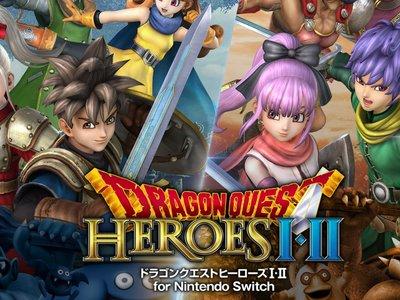 Dragon Quest Heroes I – II muestra su aspecto en Switch con capturas y su primer tráiler